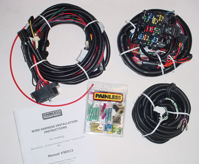 painless performance cj wiring harness kit jeep cj wiring harness cj wiring harness image restore #3