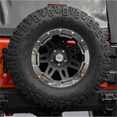 17x9 Rugged Ridge Wheel Protector Ring
